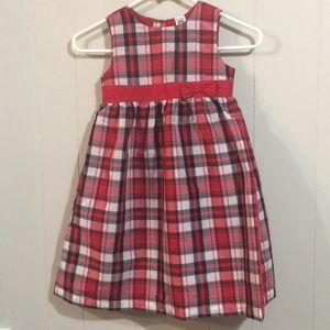 Carter's Girls Plaid Dress Size 5